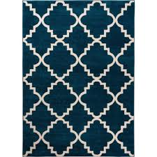 well woven sydney lulu s lattice trellis navy blue 2 ft x 4 ft modern