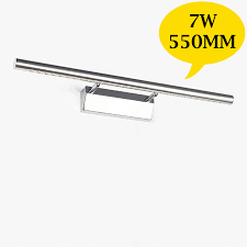 550mm 7w led bathroom mirror light washing room cosmetic lamp wall within wall mounted desk light decorating