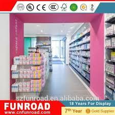modern retail furniture. modern style pharmacy retail furniture wooden display shelf