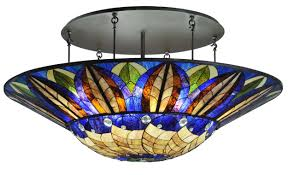 stained glass flush ceiling light fixtures ceiling lights with regard to stained glass ceiling light fixtures with regard to comfortable