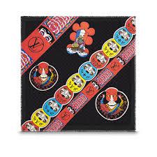 louis vuitton kabuki. kabuki stickers shawl in women\u0027s accessories scarves, shawls \u0026 more collections by louis vuitton