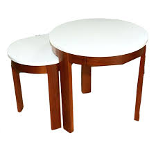 crate and barrel nesting tables round nesting tables crate barrel rh serviceauto club craft table crate