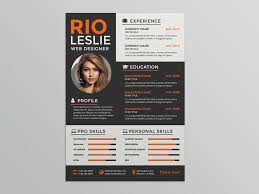 Modern Resume Template 2013 Free Creative Modern Resume Template With Stylish Design