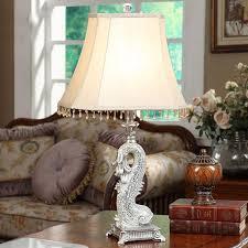 Guo Tiertischlampe Amerikanischen Pastell Paste Glas Goldfisch Lampe