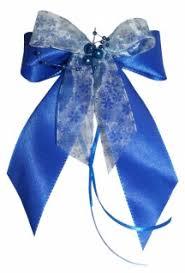 10 Weihnachtsschleifen Christbaumschmuck Schleifen Geschenke Weihnachten Ws1936 Hellblau Blau Weiß