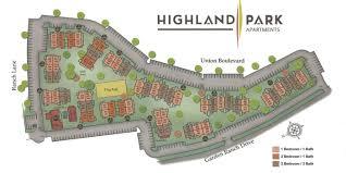 Highland Park Apartment Map Colorado Springs