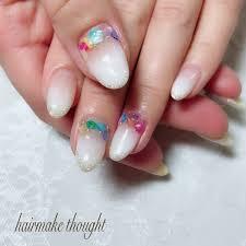春夏旅行女子会ハンド Hairmakethoughtのネイルデザインno