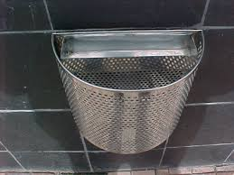 outdoor ashtray and dustbin