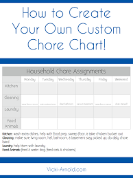 Make A Chore List Household Chores Chart Magdalene Project Org