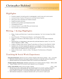 Resume In English Examples Inspiration Template Teaching Resume Sample Teacher Samples In Word 50