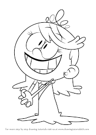 How To Draw Lola Loud From The Loud House Step By Step Learn