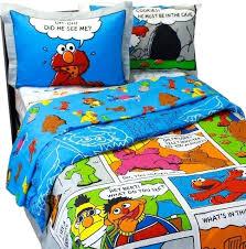 elmo bedding sets sesame street full bedding cookie monster comic strip comforter sheets elmo toddler girl bedding set