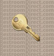Vending Machine Replacement Keys Adorable Replacement Key For Coinboxes Located In ASI Sanitary Napkin And