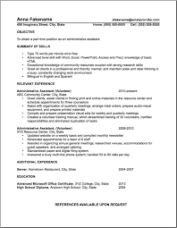 Administrative Assistant Sample Resume Volunteer Examples | Resume ...