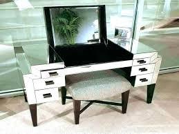 small vanity set black table glass dressing ikea sm