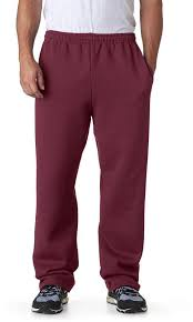 Jerzees Adult Nublend R Open Bottom Sweatpants With Pockets