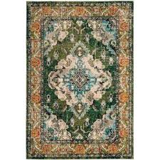 green area rugs 5x7 forest green light blue 5 ft 1 in x 7 ft houses
