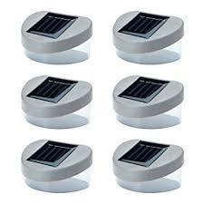 garden lights amazon. 6 X SOLAR POWERED DOOR / FENCE WALL LIGHTS LED OUTDOOR GARDEN LIGHTING Garden Lights Amazon
