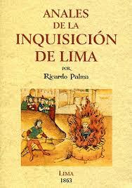 libro es de la inquisición de lima