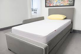 Kids Bedroom Furniture Toronto Modern Dorma Upholstered Twin Bed With Trundle By Monte Design