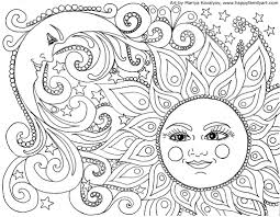 free color sheets. Wonderful Free Sun And Moon Coloring  Inside Free Color Sheets I