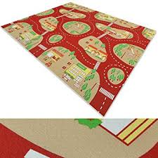 children s play mat town city play rug with roads kids playmat
