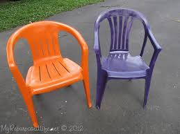 plastic outdoor furniture cover. Paint Ugly Chair With Spray Plastic Outdoor Furniture Cover