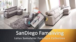 Living Room Furniture San Diego Custom Sofas San Diego Lotus Samulator Video Dailymotion