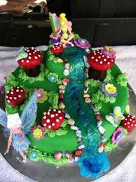 Small Picture Enchanted fairy garden cake cake creations Pinterest Fairy