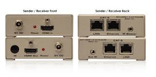 gefen llc extender for hdmi 1 3 over cat5 w eth discontinued displays and network equipment connect a single cat5 extension cable between sender and receiver the extender sender and receiver units be up to