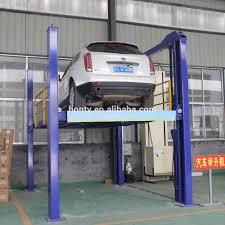 Car Parking Lift Design Hot Sale Hydraulic Lift 4 Column Simple Four Post Car Parking System Buy Hydraulic Four Post Car Parking Lift Car Parking System 4 Column Parking