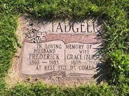 Grace Burse Tadgell (1898-2001) - Find A Grave Memorial