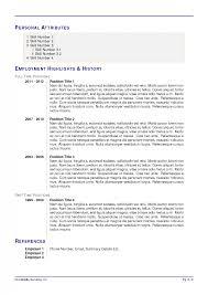 Packages Latex Template For Resumecurriculum Vitae Tex Cv Europass