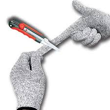 Cut Resistant Gloves Fishing Knife Guard Food Grade For Yard