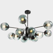 modern pendant light led bulbs bubble glass ball pendant lamp magic bean hanging lighting chandelier light fixtures light ceiling kitchen pendants from