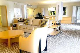 contemporary resort s two or one bedroom suite living area