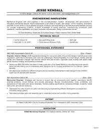 Entry Level Mechanical Engineering Resume 650841 Entry Level