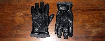 The Splurge: Quilted Leather Moto Gloves &  Adamdwight.com