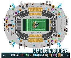 Tiaa Bank Field Seating Chart With Rows And Seat Numbers Tiaa Bank Field