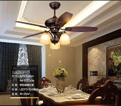 fan chandelier rustic retro fan chandelier fan lights living room dining room bedroom wooden leaf chandelier