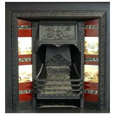 cast iron fireplace inserts cast iron fireplace insert grate with hand painted tiles 1 cast iron cast iron fireplace