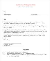 Medical Termination Letter 32 Simple Termination Letter Templates Doc Pdf Ai Free