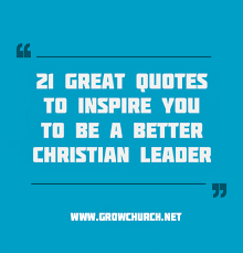 Christian Leader Quotes