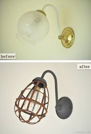 perfect diy wall sconce light diy sconce lights decorating your small space