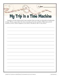 th grade english language arts lessons teach my trip in a time machine 5th 8th grade worksheet lesson planet