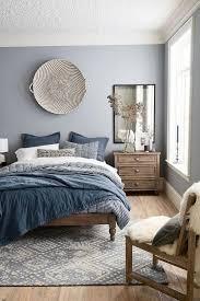 modern bedroom design featuring a blue