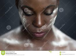 royalty free stock photo creative makeup black skin