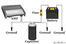 capacitor wiring diagram wiring diagram schematics baudetails info car audio capacitor wiring diagram nilza net