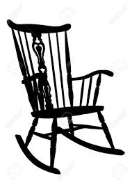 rocking chair silhouette. Rocking Chair Clipart On Inspiring Clipartfest Intended For Silhouette