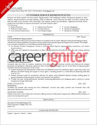 list of core competencies for resumes customer service resume sample career igniter